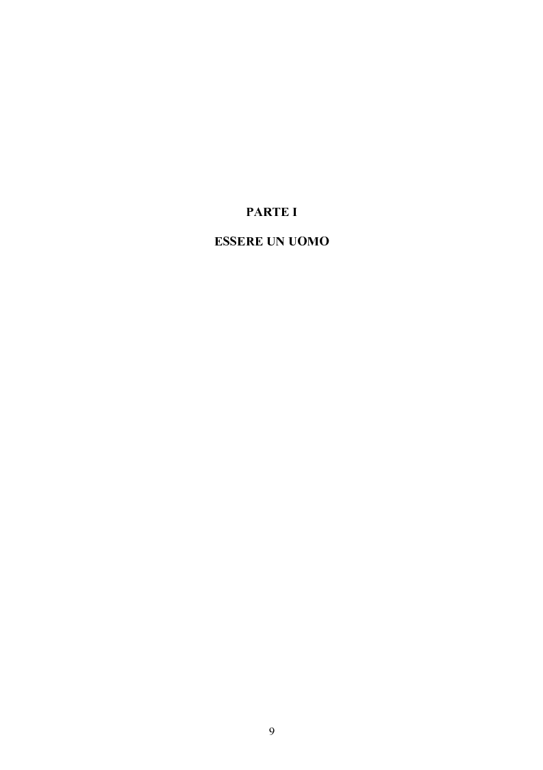 Anteprima della tesi: Gli uomini... il secondo sesso? Considerazioni mascoliniste sulla condizione dell'uomo, Pagina 3