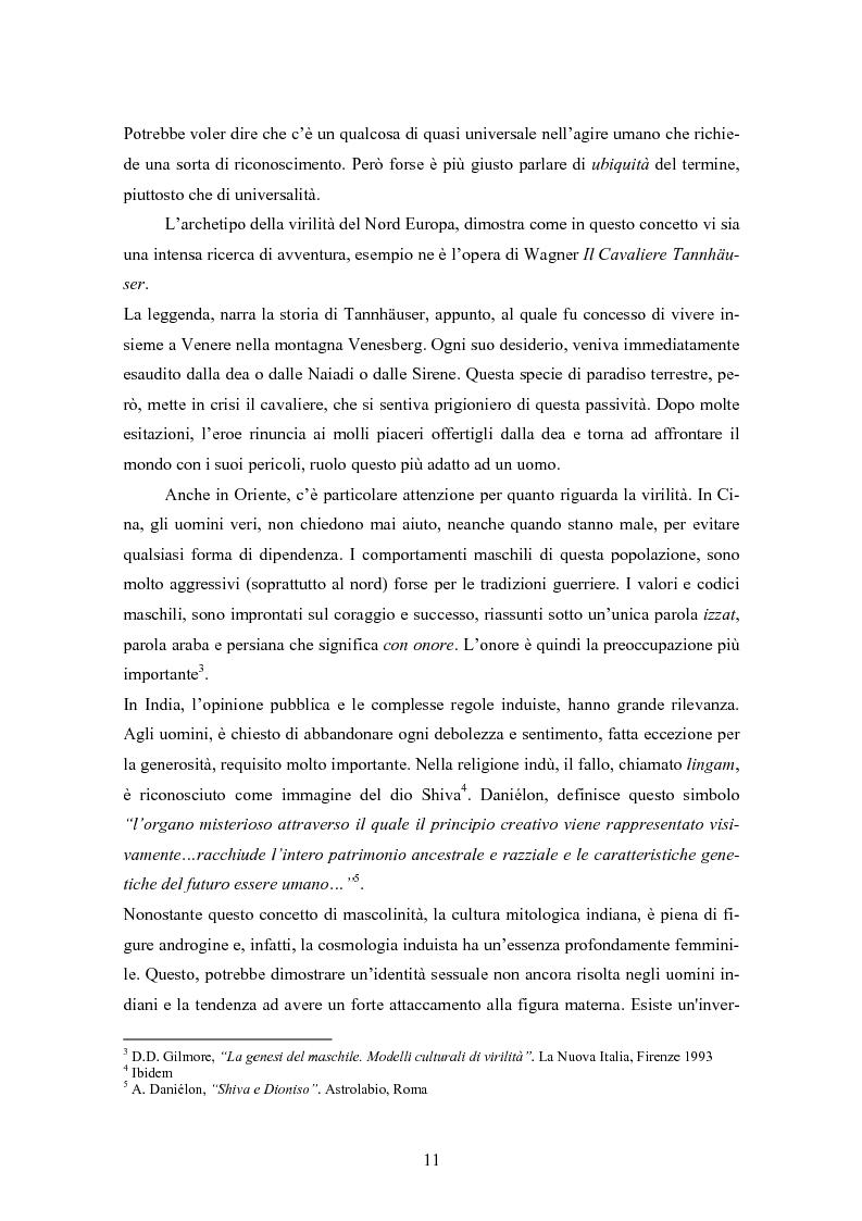 Anteprima della tesi: Gli uomini... il secondo sesso? Considerazioni mascoliniste sulla condizione dell'uomo, Pagina 5