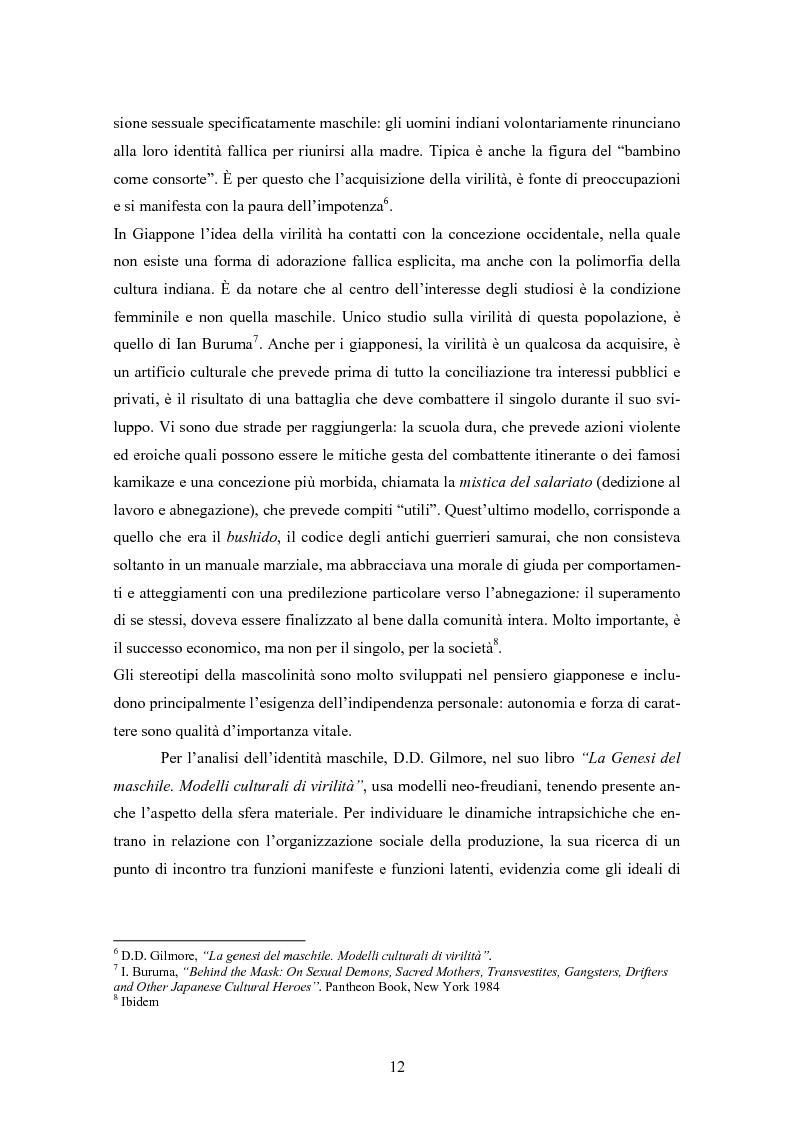 Anteprima della tesi: Gli uomini... il secondo sesso? Considerazioni mascoliniste sulla condizione dell'uomo, Pagina 6