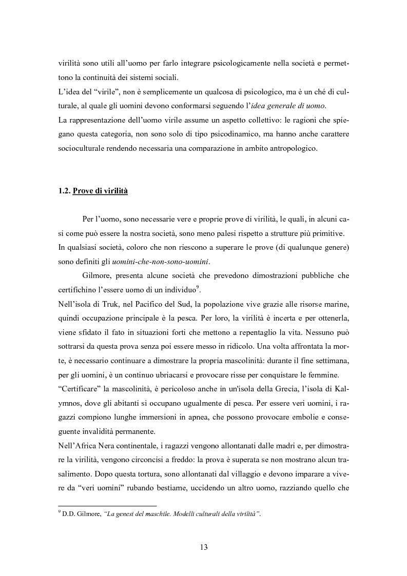 Anteprima della tesi: Gli uomini... il secondo sesso? Considerazioni mascoliniste sulla condizione dell'uomo, Pagina 7