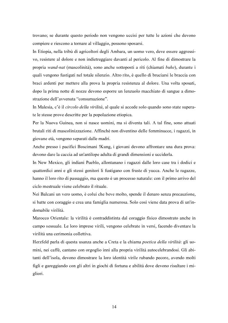 Anteprima della tesi: Gli uomini... il secondo sesso? Considerazioni mascoliniste sulla condizione dell'uomo, Pagina 8