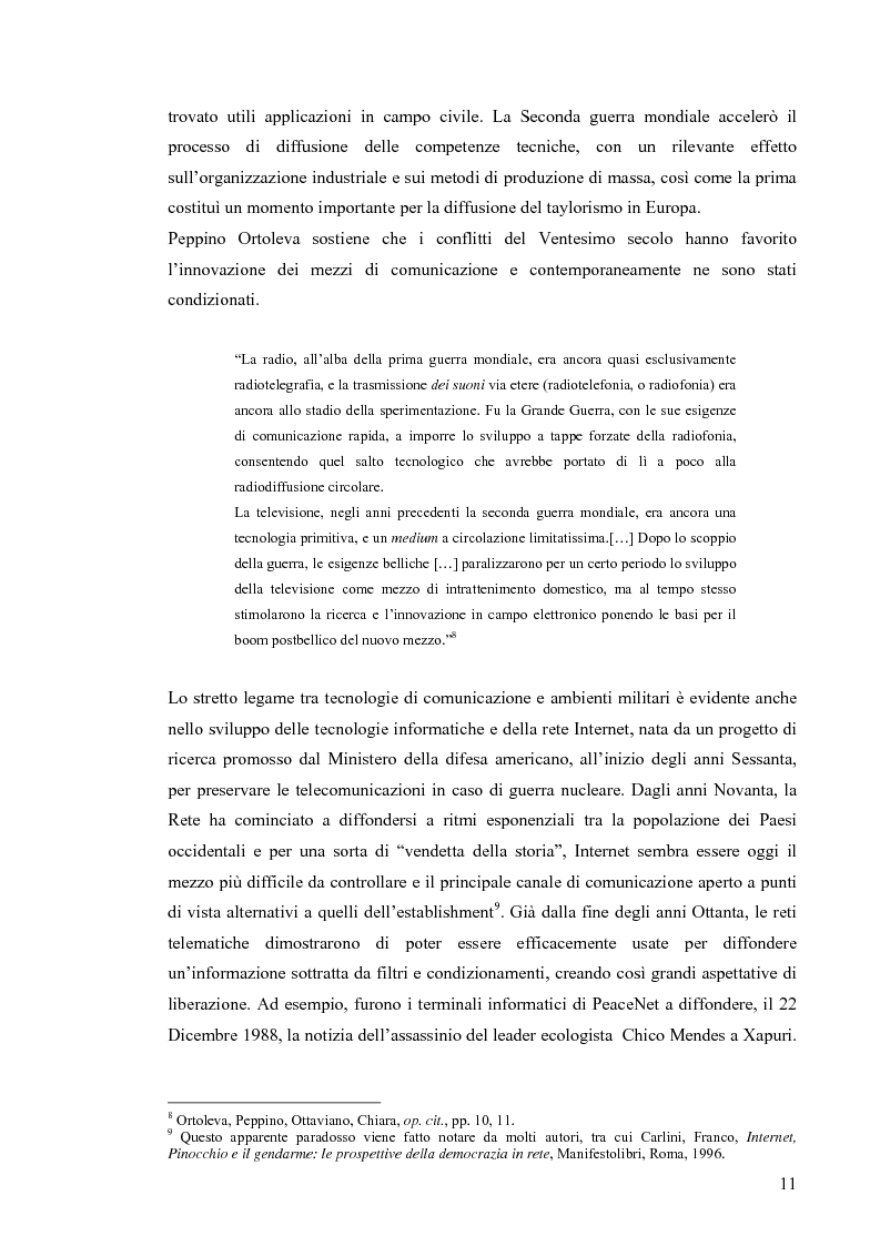 Anteprima della tesi: Enduring Freedom. Retorica umanitaria e spersonalizzazione nella nuova guerra in Afghanistan, Pagina 11