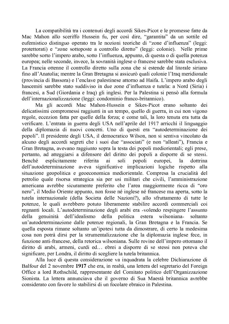 """Anteprima della tesi: Alle origini della questione libanese: la vicenda di un Paese """"composito"""" nella storia di un contesto """"complicato"""", Pagina 2"""