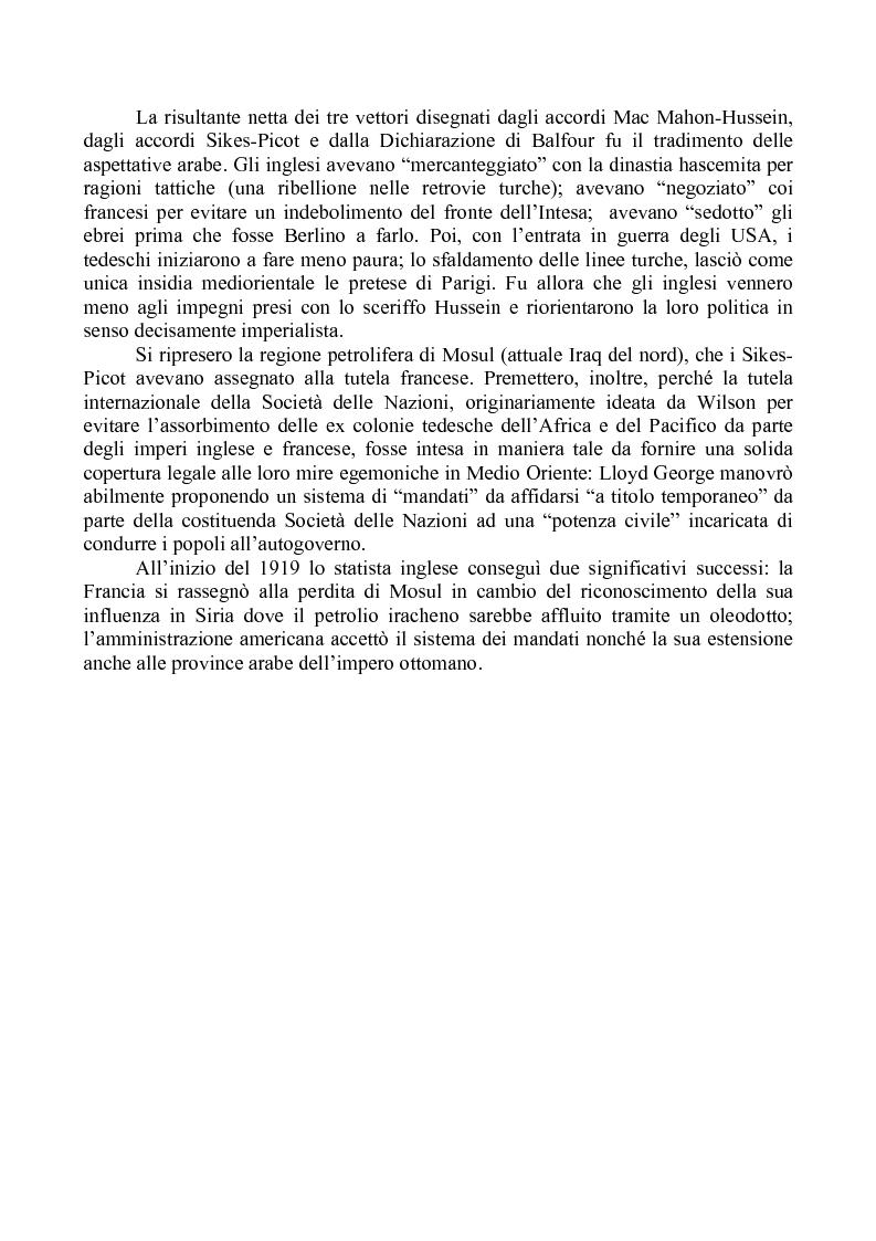 """Anteprima della tesi: Alle origini della questione libanese: la vicenda di un Paese """"composito"""" nella storia di un contesto """"complicato"""", Pagina 3"""