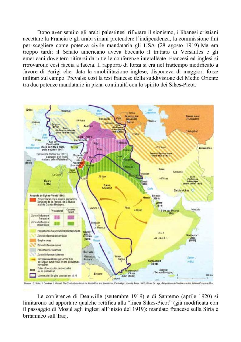 """Anteprima della tesi: Alle origini della questione libanese: la vicenda di un Paese """"composito"""" nella storia di un contesto """"complicato"""", Pagina 5"""