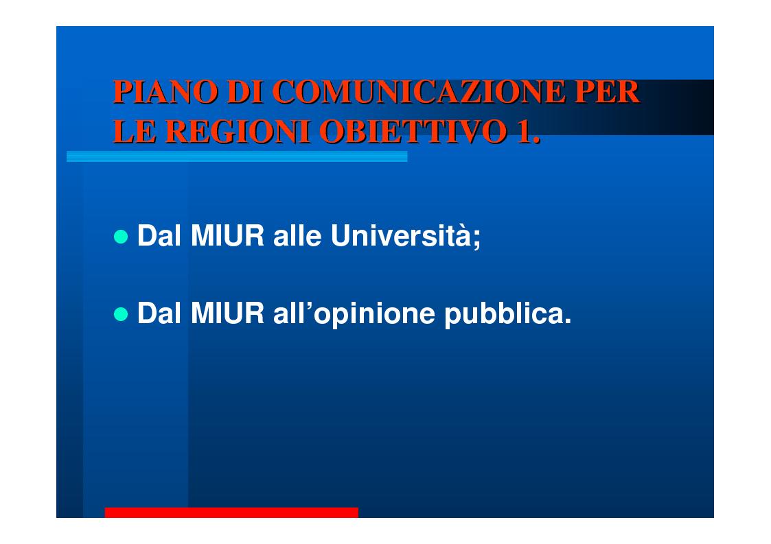 Anteprima della tesi: Comunicare la Ricerca. Tre Università: Bari, Calabria, Catania., Pagina 7