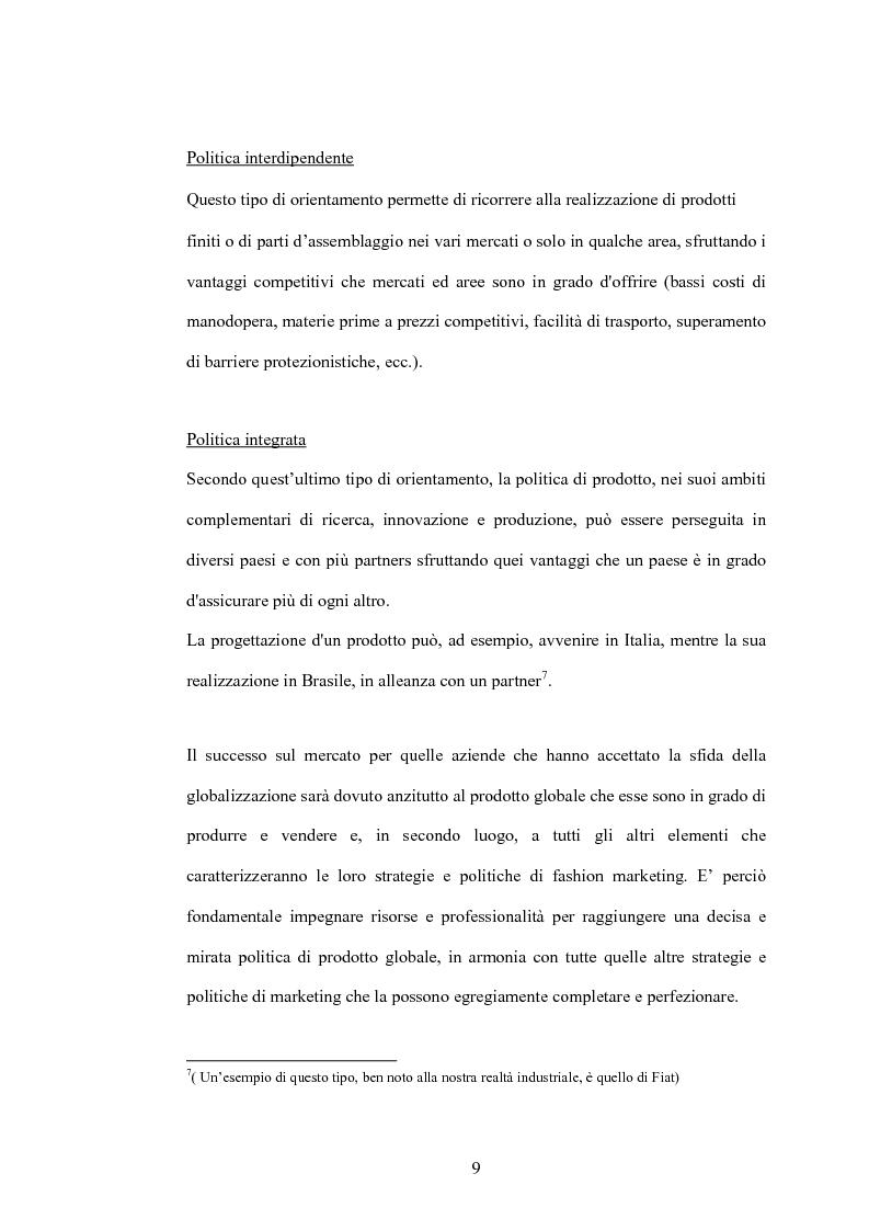 Anteprima della tesi: Da fashion retailers a imprese globali del sistema moda. Analisi di due casi significativi: Gap Inc. e Inditex, Pagina 12