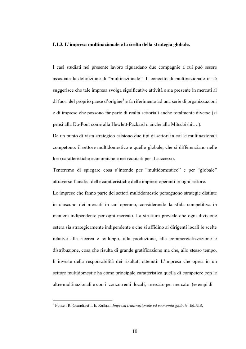 Anteprima della tesi: Da fashion retailers a imprese globali del sistema moda. Analisi di due casi significativi: Gap Inc. e Inditex, Pagina 13