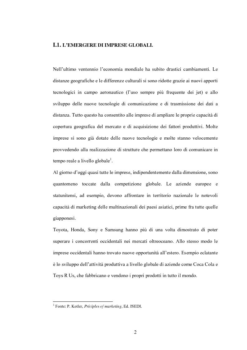 Anteprima della tesi: Da fashion retailers a imprese globali del sistema moda. Analisi di due casi significativi: Gap Inc. e Inditex, Pagina 5