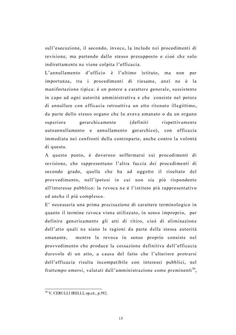 Anteprima della tesi: L'autotutela nel diritto tributario con particolare riguardo alla posizione soggettiva del contribuente, Pagina 10