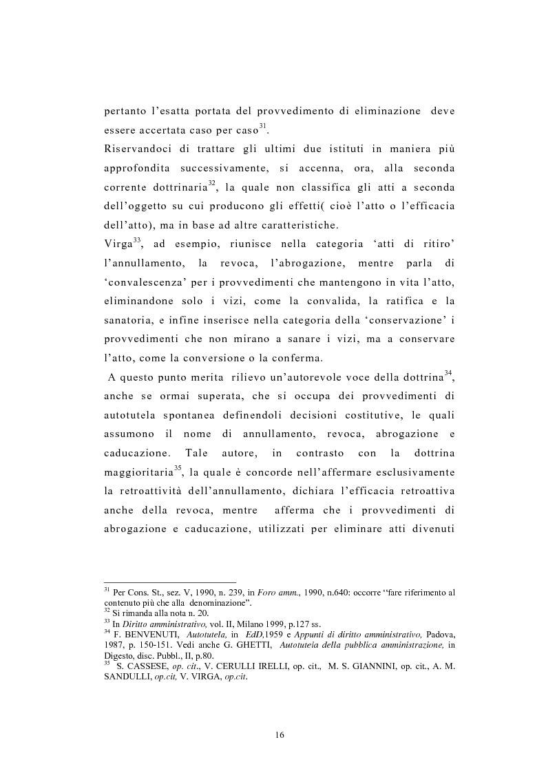 Anteprima della tesi: L'autotutela nel diritto tributario con particolare riguardo alla posizione soggettiva del contribuente, Pagina 11