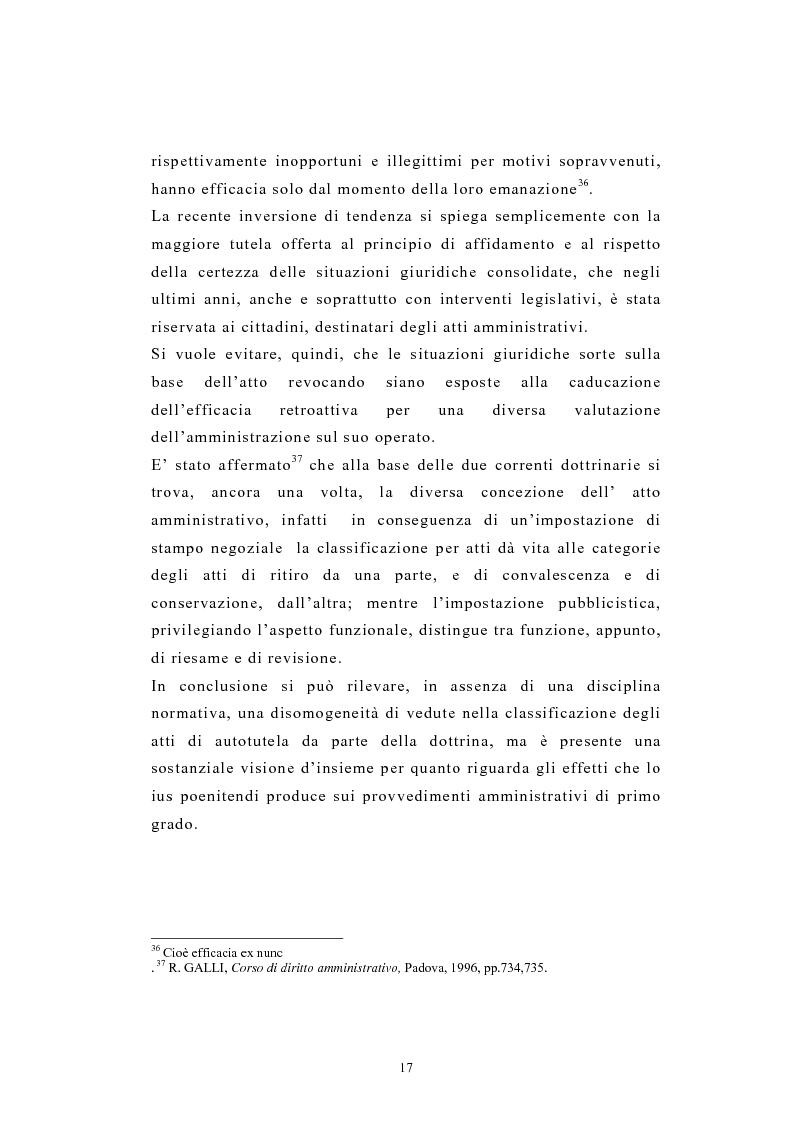 Anteprima della tesi: L'autotutela nel diritto tributario con particolare riguardo alla posizione soggettiva del contribuente, Pagina 12
