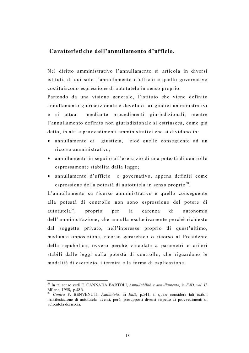 Anteprima della tesi: L'autotutela nel diritto tributario con particolare riguardo alla posizione soggettiva del contribuente, Pagina 13