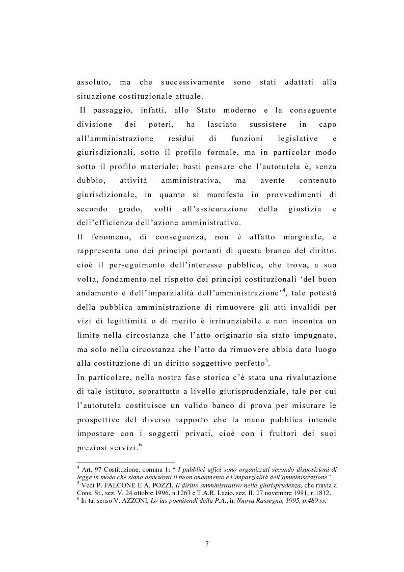 Anteprima della tesi: L'autotutela nel diritto tributario con particolare riguardo alla posizione soggettiva del contribuente, Pagina 2