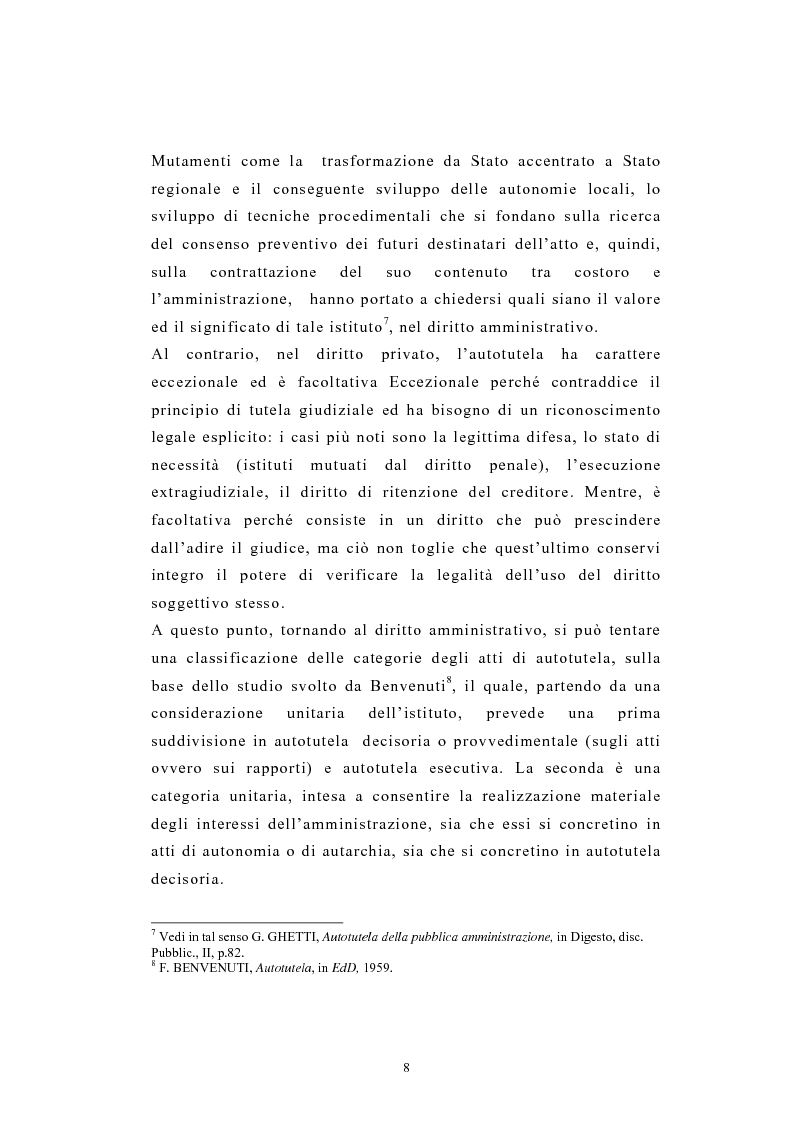 Anteprima della tesi: L'autotutela nel diritto tributario con particolare riguardo alla posizione soggettiva del contribuente, Pagina 3