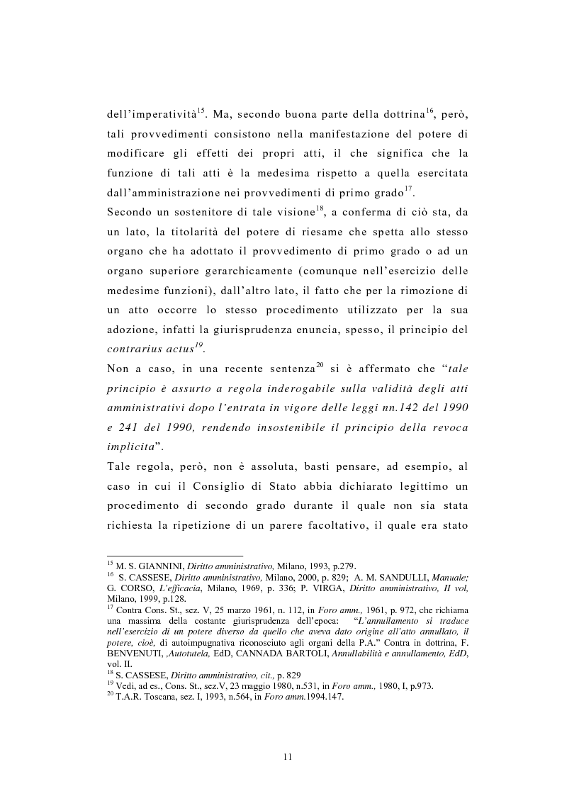 Anteprima della tesi: L'autotutela nel diritto tributario con particolare riguardo alla posizione soggettiva del contribuente, Pagina 6