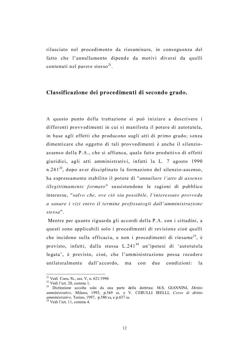 Anteprima della tesi: L'autotutela nel diritto tributario con particolare riguardo alla posizione soggettiva del contribuente, Pagina 7