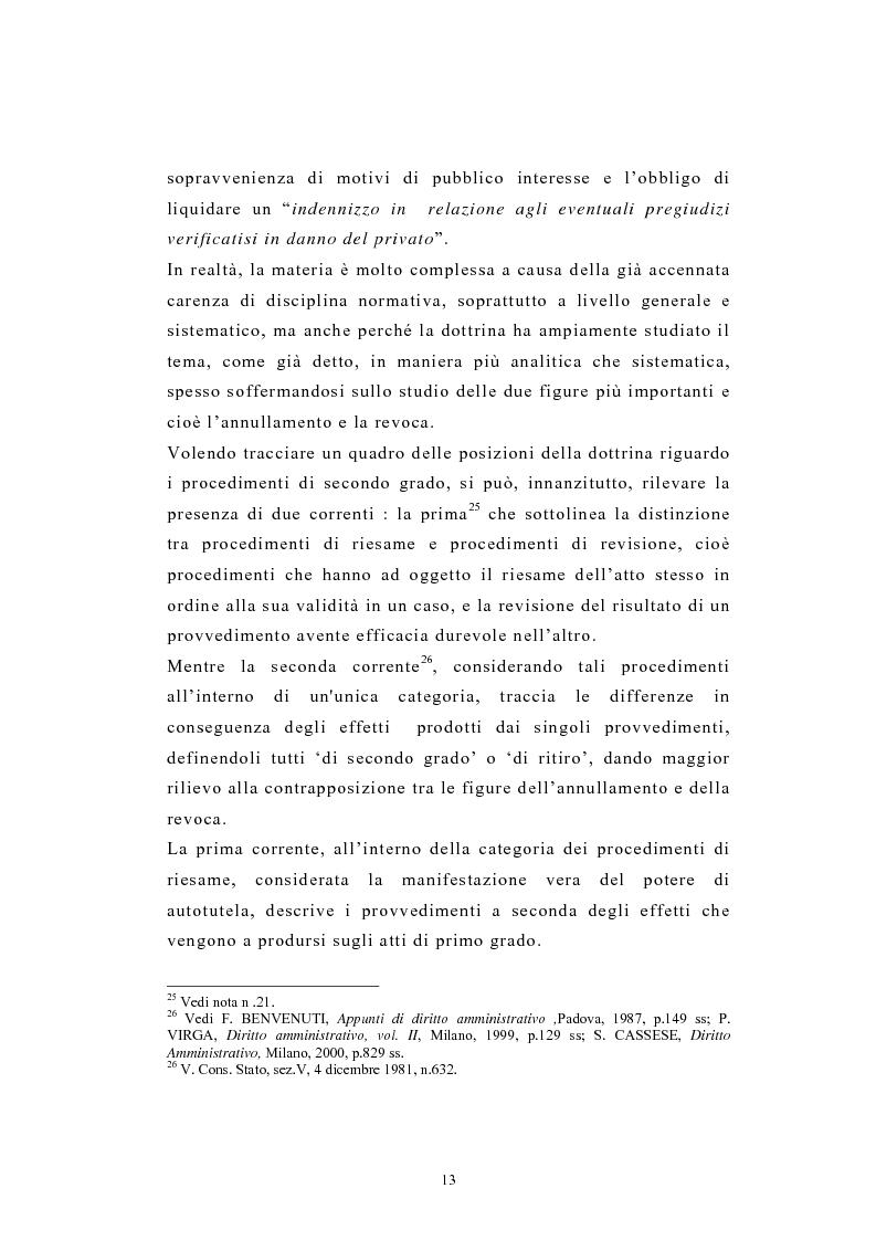 Anteprima della tesi: L'autotutela nel diritto tributario con particolare riguardo alla posizione soggettiva del contribuente, Pagina 8