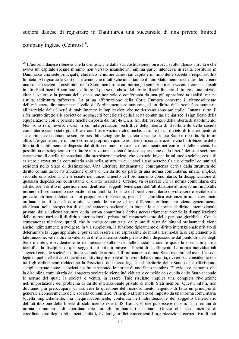 Anteprima della tesi: La società europea, Pagina 11