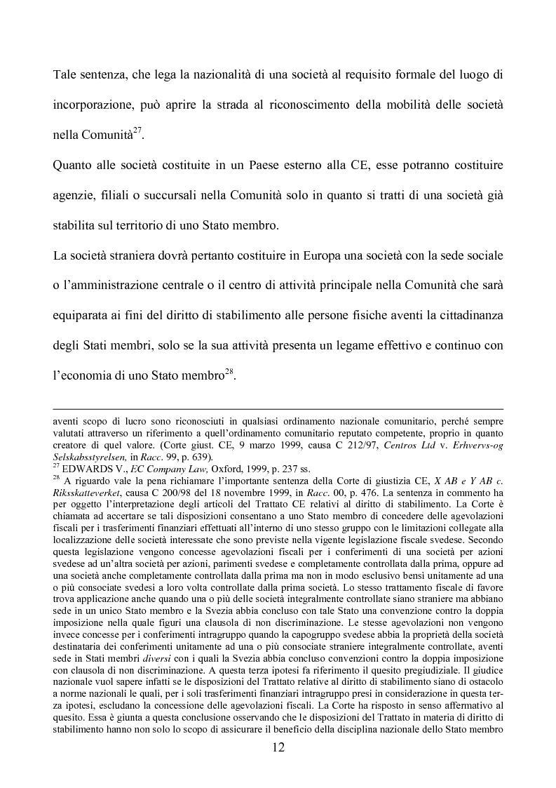 Anteprima della tesi: La società europea, Pagina 12