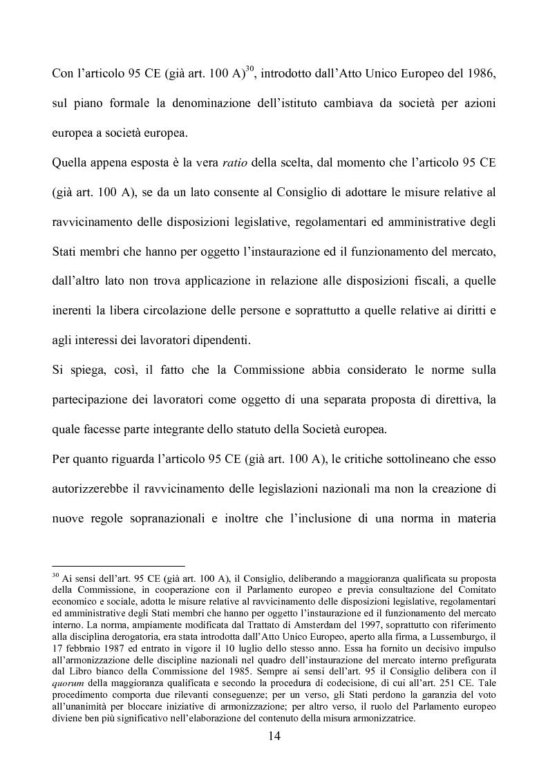 Anteprima della tesi: La società europea, Pagina 14