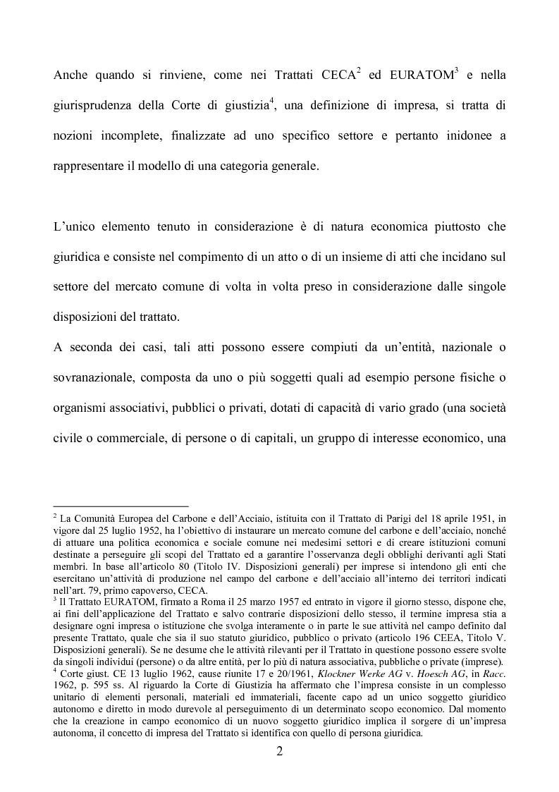 Anteprima della tesi: La società europea, Pagina 2