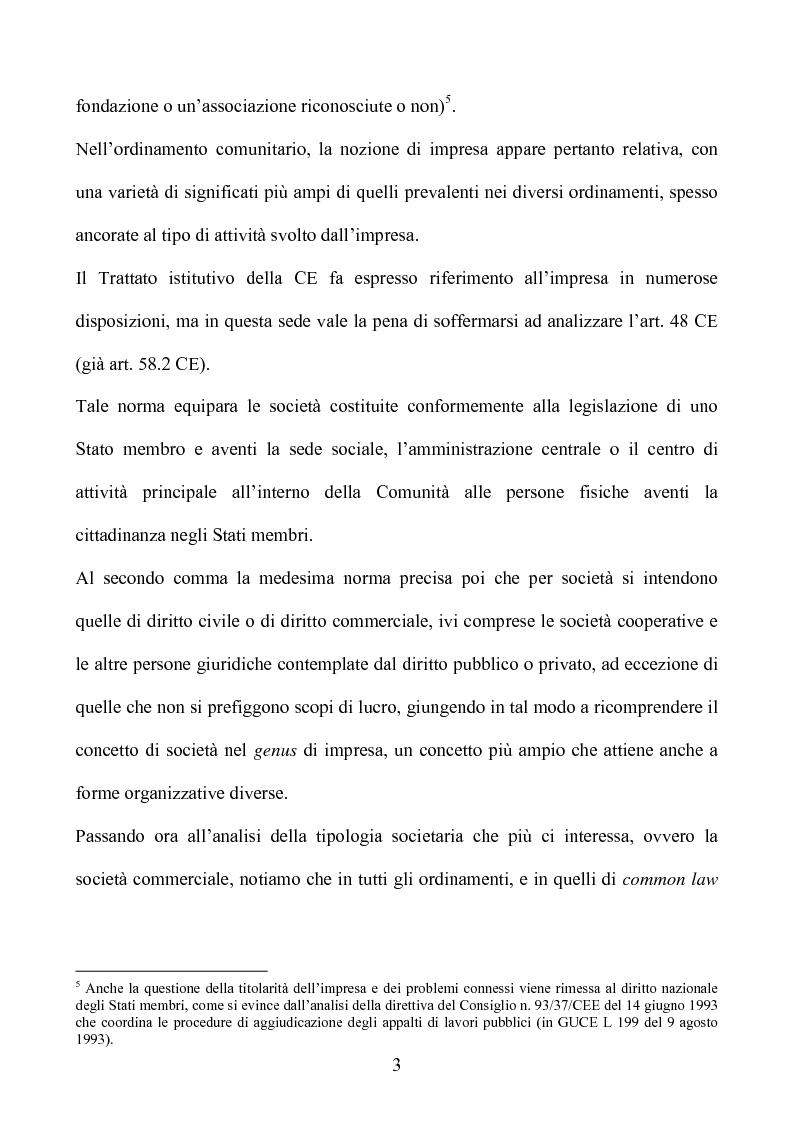 Anteprima della tesi: La società europea, Pagina 3
