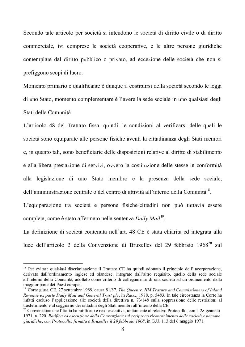 Anteprima della tesi: La società europea, Pagina 8
