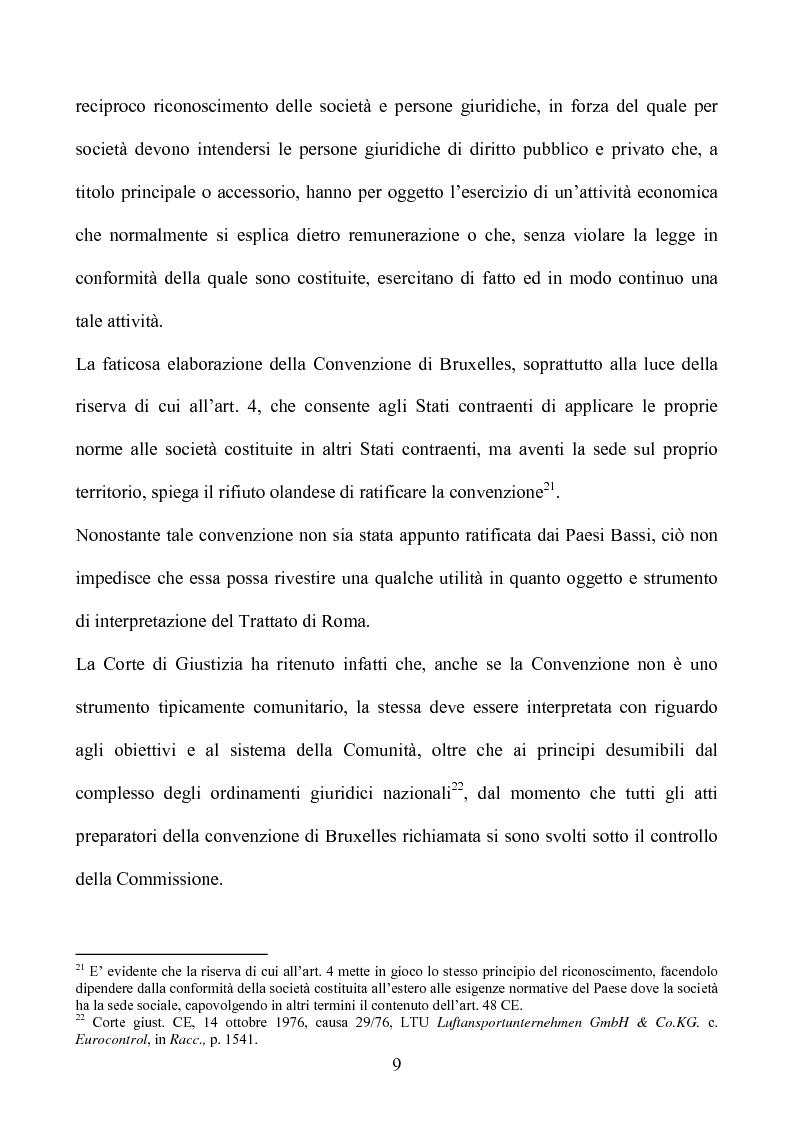 Anteprima della tesi: La società europea, Pagina 9