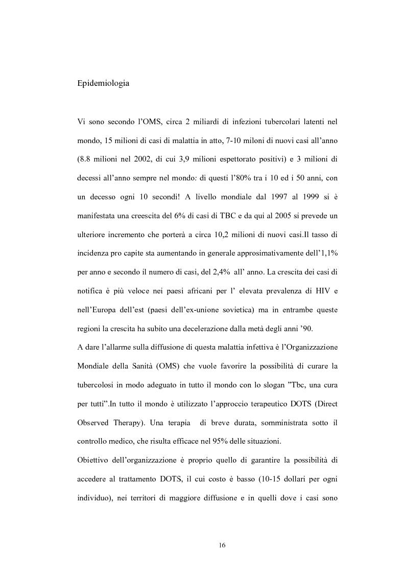 Anteprima della tesi: Immunità cellulo mediata in corso di Tubercolosi: ruolo delle cellule dendritiche, Pagina 12