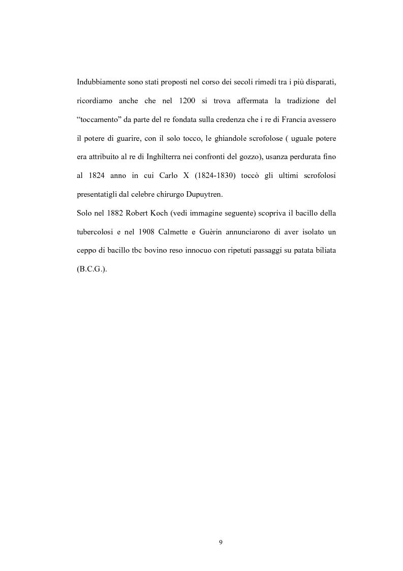 Anteprima della tesi: Immunità cellulo mediata in corso di Tubercolosi: ruolo delle cellule dendritiche, Pagina 5