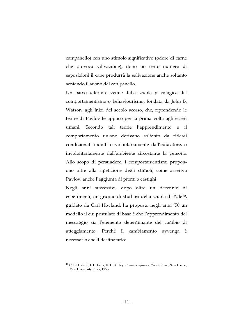 Anteprima della tesi: La pubblicità sociale: WWF e il caso DETOX, Pagina 14