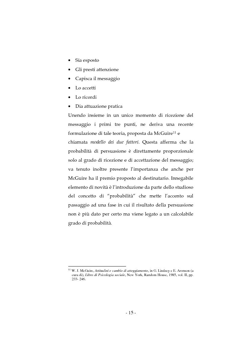 Anteprima della tesi: La pubblicità sociale: WWF e il caso DETOX, Pagina 15
