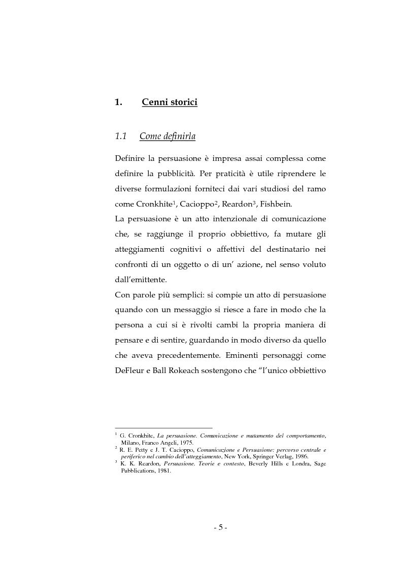 Anteprima della tesi: La pubblicità sociale: WWF e il caso DETOX, Pagina 5
