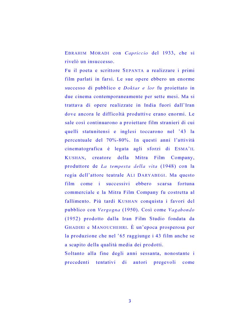 Anteprima della tesi: Il cinema di Abbas Kiarostami, Pagina 2