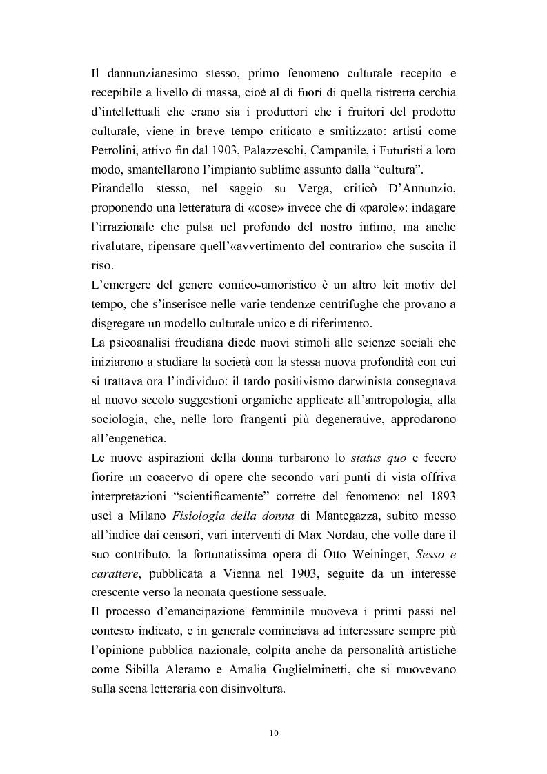 Anteprima della tesi: A onor del vero. Pitigrilli: scrittore anti sublime. Viaggio nella vita e nelle opere di un autore controverso, Pagina 10