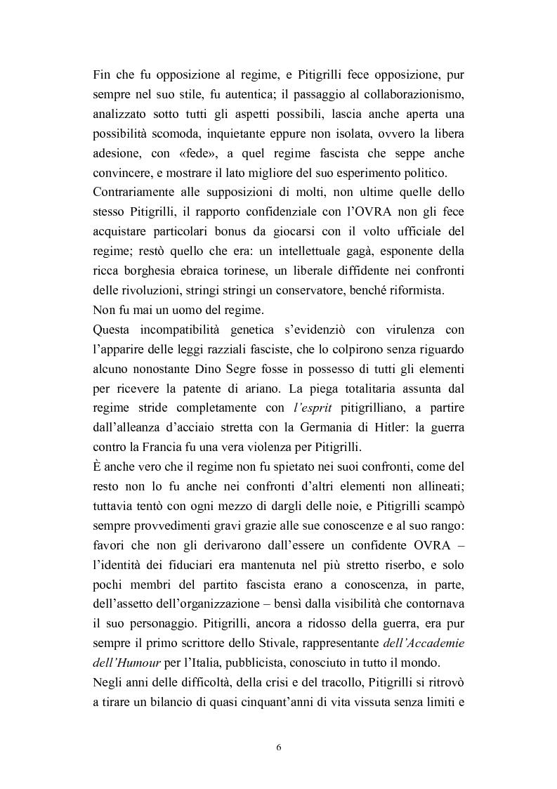 Anteprima della tesi: A onor del vero. Pitigrilli: scrittore anti sublime. Viaggio nella vita e nelle opere di un autore controverso, Pagina 6