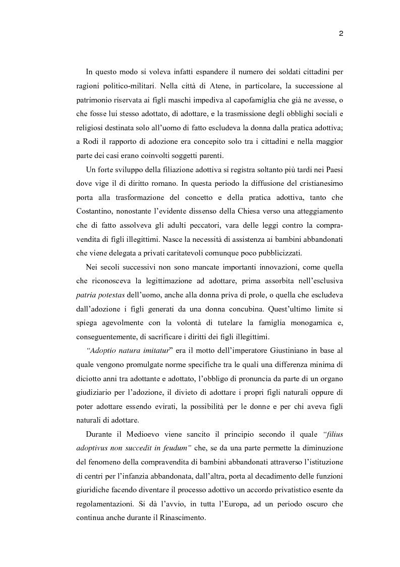 Anteprima della tesi: La costruzione di un contesto di collaborazione valutativa nei colloqui di idoneità all'adozione, Pagina 3
