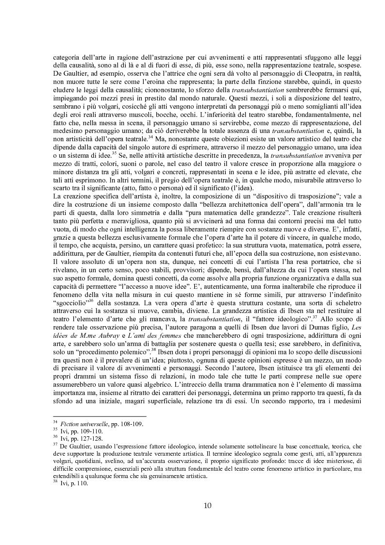 Anteprima della tesi: Jules de Gaultier : la filosofia del bovarismo. Un philosophe nouveau nella cultura francese del primo Novecento, Pagina 10