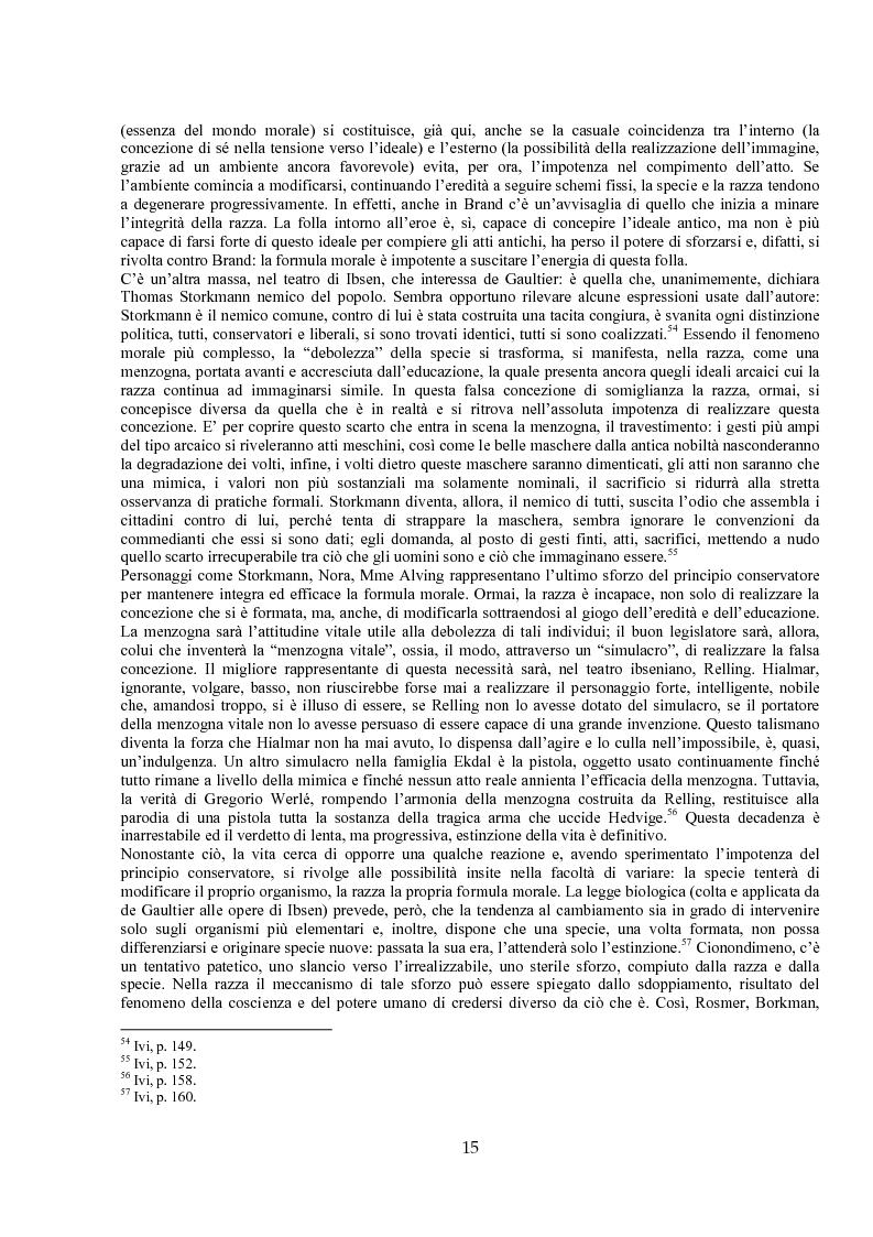 Anteprima della tesi: Jules de Gaultier : la filosofia del bovarismo. Un philosophe nouveau nella cultura francese del primo Novecento, Pagina 15