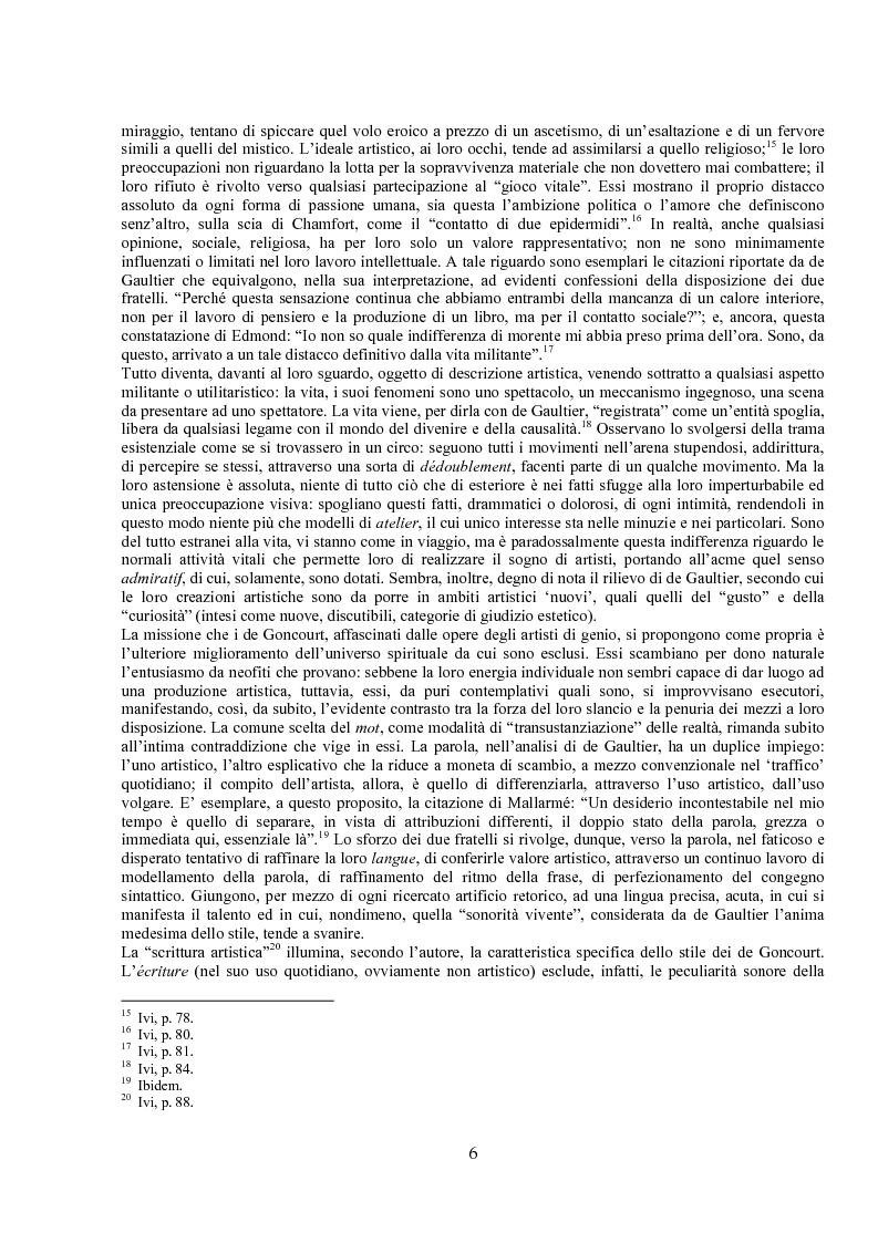 Anteprima della tesi: Jules de Gaultier : la filosofia del bovarismo. Un philosophe nouveau nella cultura francese del primo Novecento, Pagina 6