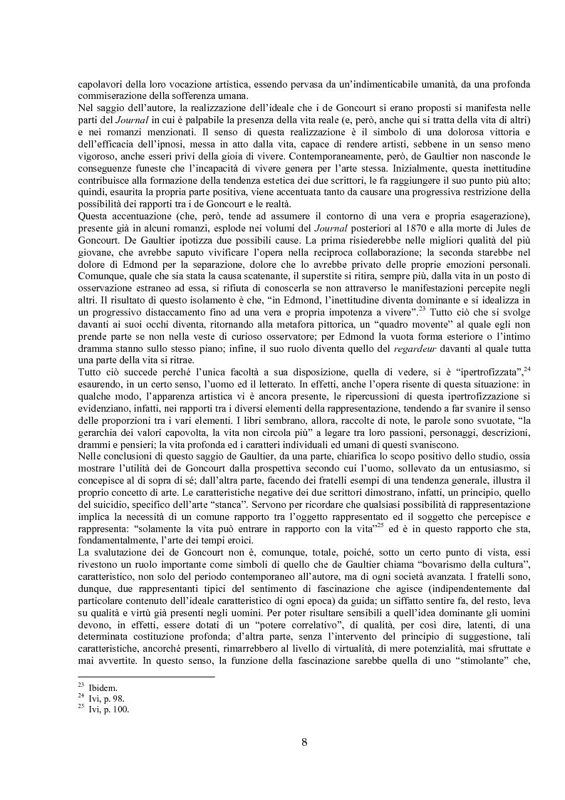 Anteprima della tesi: Jules de Gaultier : la filosofia del bovarismo. Un philosophe nouveau nella cultura francese del primo Novecento, Pagina 8