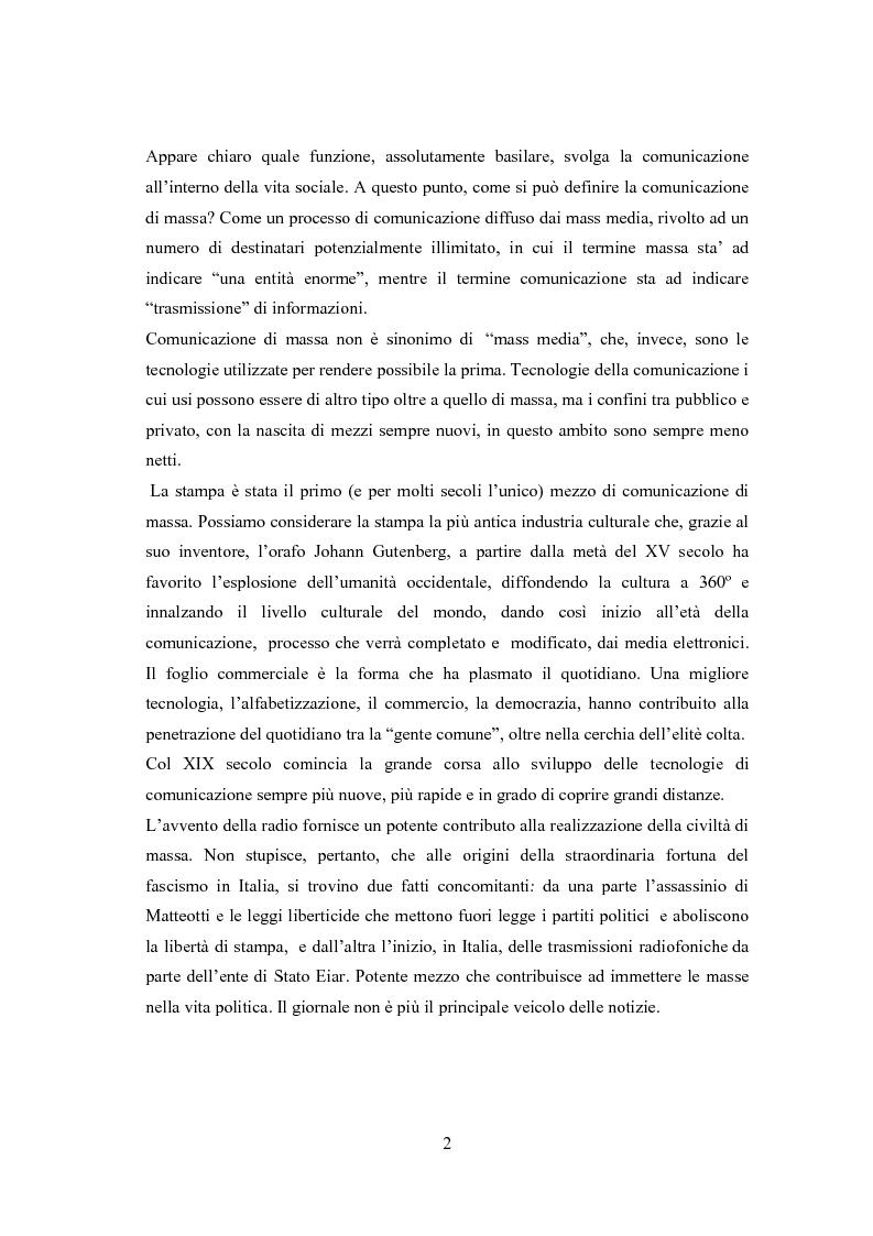 Anteprima della tesi: Professione reporter di guerra: da Russell ad Al-Jazeera storie, analisi ed evoluzione di un mestiere difficile, Pagina 2