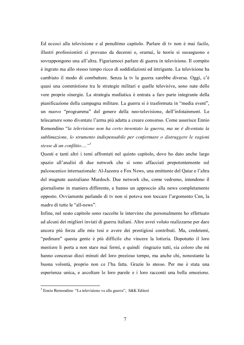 Anteprima della tesi: Professione reporter di guerra: da Russell ad Al-Jazeera storie, analisi ed evoluzione di un mestiere difficile, Pagina 7