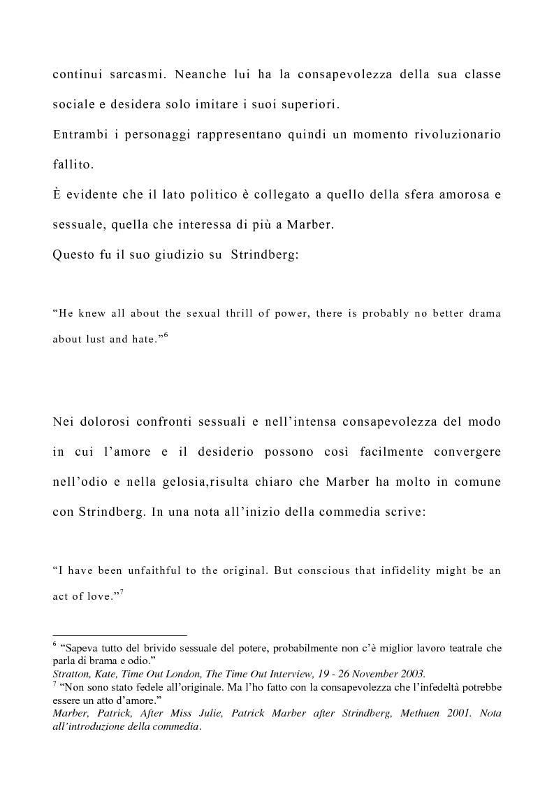 Anteprima della tesi: Il teatro di Patrick Marber, Pagina 7