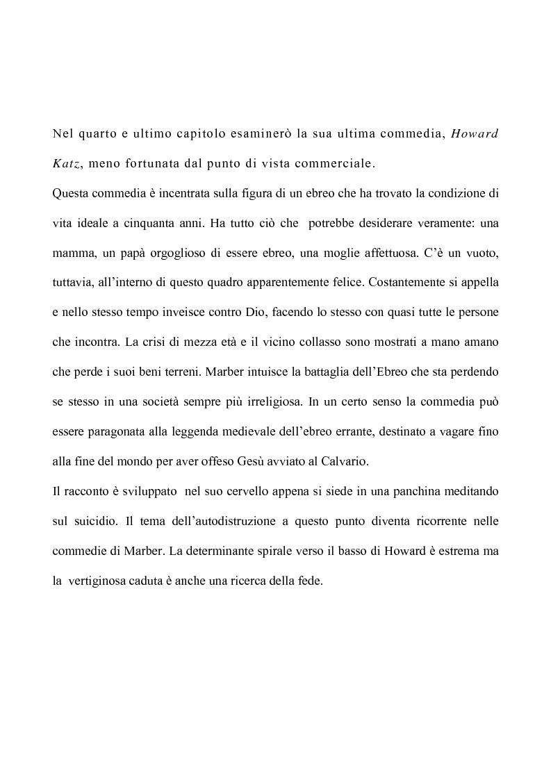 Anteprima della tesi: Il teatro di Patrick Marber, Pagina 8