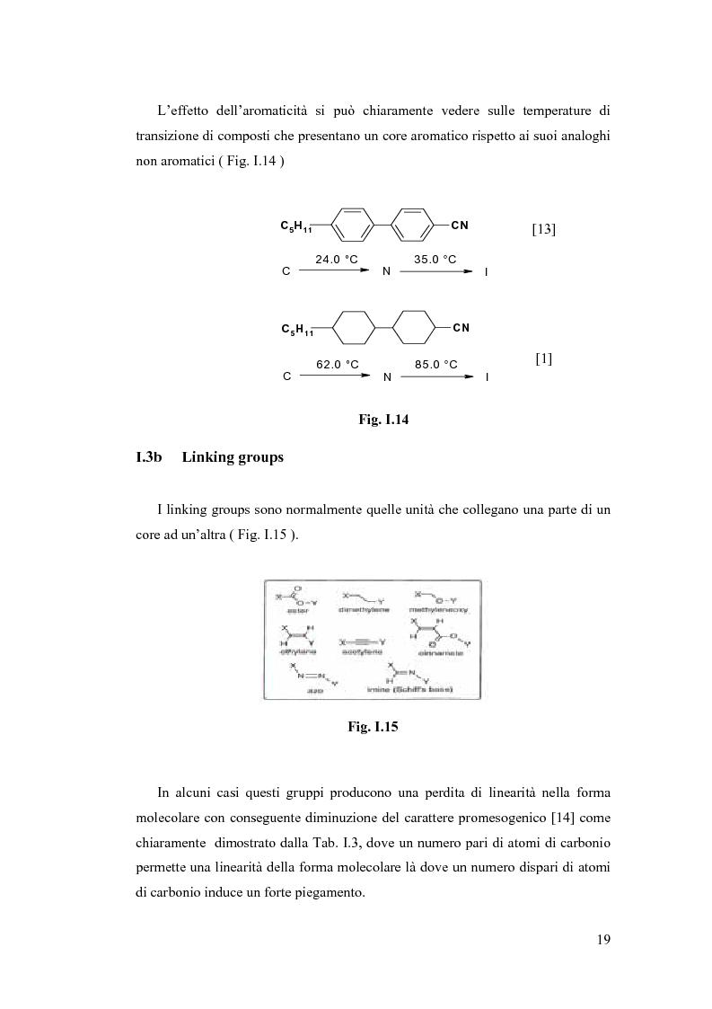 Anteprima della tesi: Sintesi e Caratterizzazione Mediante Diffrattometria a Raggi X su Polveri Cristalline a Temperatura Variabile di Nuovi Materiali Liquido-Cristallini, Pagina 14