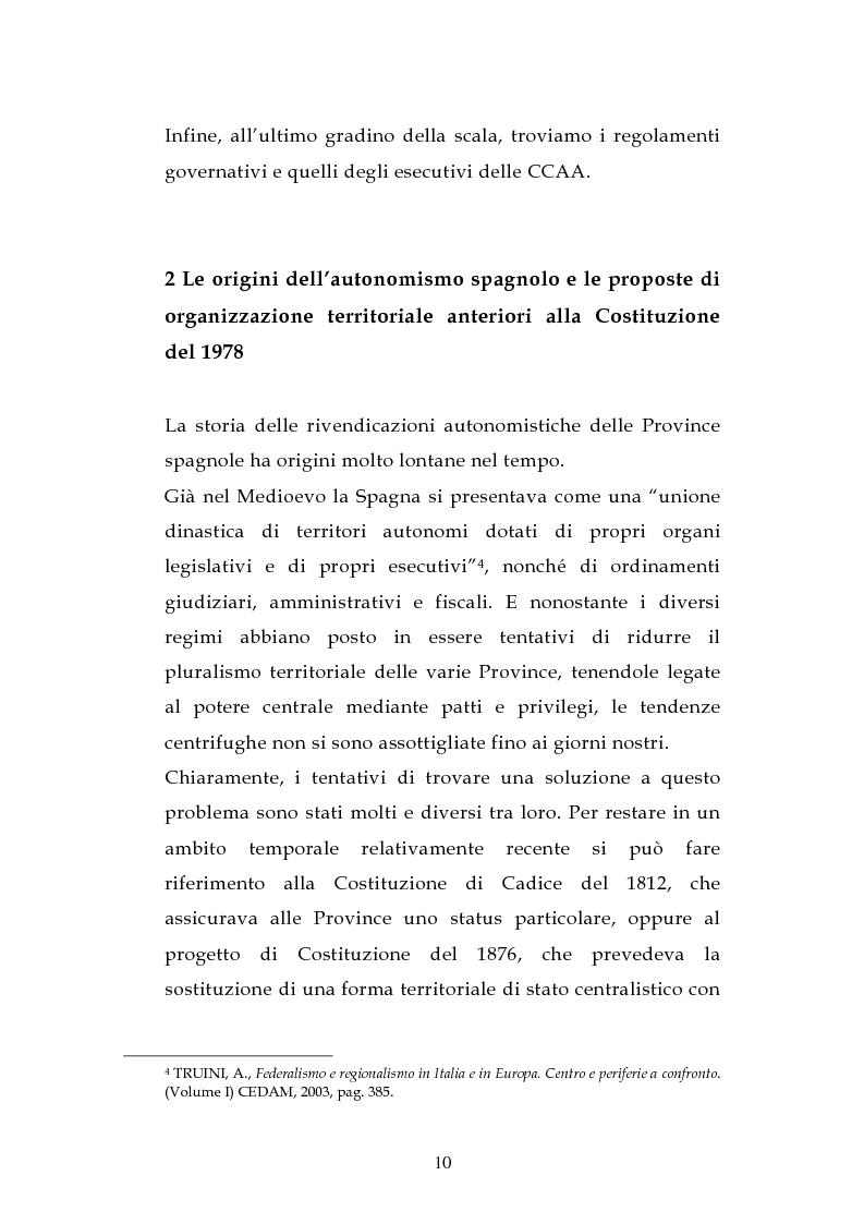 Anteprima della tesi: L'ordinamento dell'istruzione in Italia e in Spagna, Pagina 7