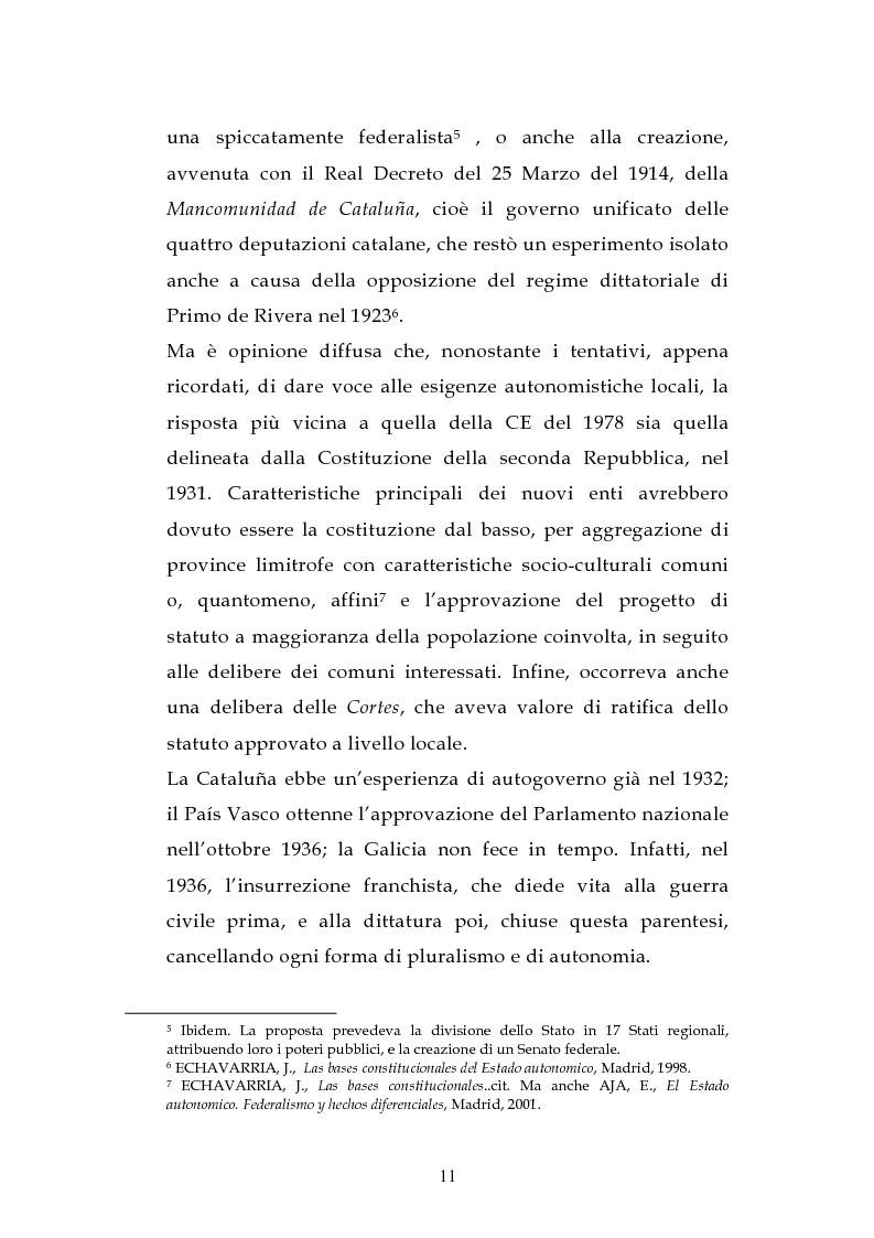 Anteprima della tesi: L'ordinamento dell'istruzione in Italia e in Spagna, Pagina 8