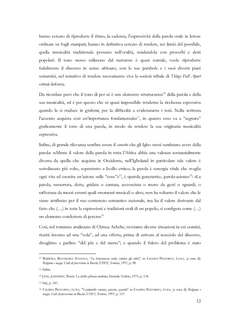 Anteprima della tesi: Chi conosce il domani? Il mondo Igbo attraverso Chinua Achebe, Pagina 7